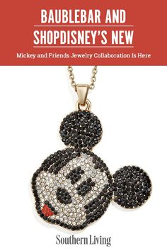 There is big news for those who love a glitzy accessory and who also adore all things Disney. One of our favorite jewelry brands, BaubleBar, has partnered up with shopDisney for four brand new collections.  #disney #jewelry #accessories #baublebardisney #southernliving Friend Jewelry, Big News, Disney Jewelry, Disney World Trip, Mickey And Friends, Faceted Glass, Gift List, Southern Style, Jewelry Branding