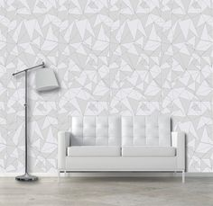 Items Similar To Triangular Self Adhesive Vinyl Wallpaper Removable Decal Sticker Triangles Pattern Nursery On Etsy