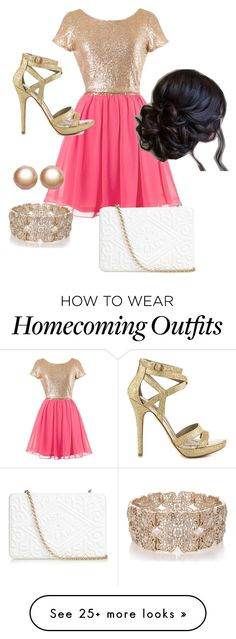 """""""Homecoming"""" by carlymosier-i on Polyvore featuring Michael Antonio, Oasis, Amour de Pearl and Anya Hindmarch"""