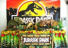 Kids Party Jurassic Park Decoration