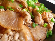 ✤大根が主役!豚の生姜焼き✤の画像