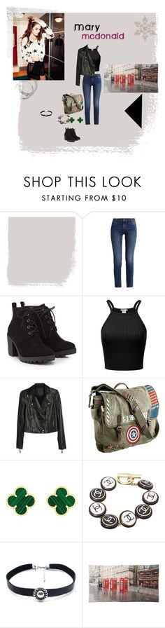 """""""Mary"""" by itsnotmeitsandy on Polyvore featuring moda, Calvin Klein, Red Herring, Paige Denim, Marvel, Van Cleef & Arpels, Chanel, Child Of Wild, Tolani y 253411"""