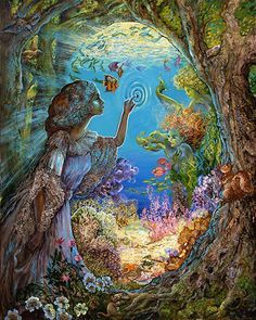 Portal To The Ocean by Josephine Wall                                                                                                                                                                                 Mais
