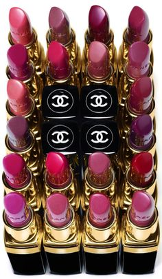CHANEL lipsticks ριηтεяεsт: Love lipstick & eyeshadow color palettes!