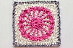 Free Crochet Patterns: Free Crochet Granny Square Motif Patterns
