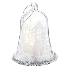 ABOUT ME LED-lit wonderland scene with string for hanging. Christmas Bells, Christmas Gifts, Avon, Scene, Gift Ideas, Wonderland, Range, Stuff To Buy, Led