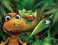 Tips From A Mom of 3: Dinosaur Train Birthday Party! Frugal & Fun!