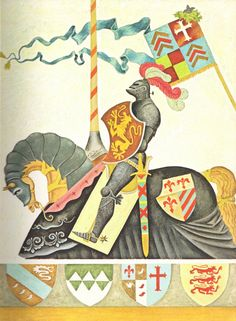 Gustaf Tenggren - King Arthur and the Knights of the round Table - 3
