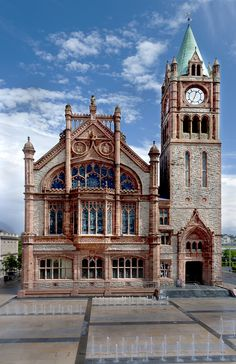 The Guildhall, Londonderry, Northern Ireland by Peter Lennon on 500px