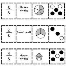 Fraction Match Up 2nd-grade-math