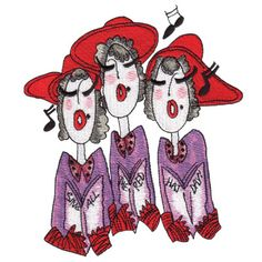 Jumbo Red Hat Ladies I Collection