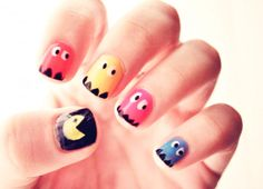 Cute Cartoon Nails Nail Art Easy Pretty Nice