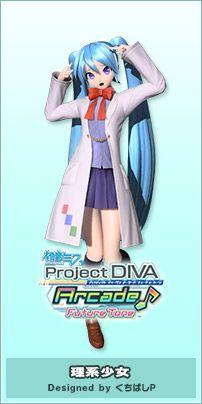 Module   Hatsune Miku Project DIVA Arcade Future Tone Official Website