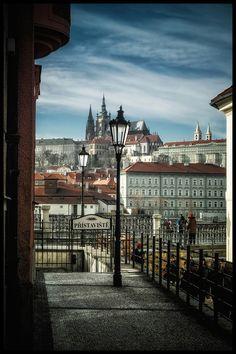 Prague views by Václav Verner | http://www.iconhotel.eu/en/contact/location