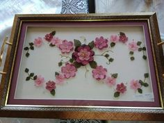 Gönül Sevgi Diy And Crafts, Projects To Try, Tray, Embroidery, How To Make, Handmade, Decor, Craft, Lace