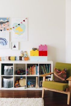 Lego storage bricks! - A Pretty Melbourne Home | A Cup of Jo