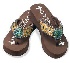 Dinah Flip Flops - Gypsy Soule