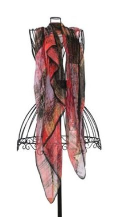 Taleen Watercolor Plaid Printed Square Shawl Scarf. 3 Colors Available. (dusty rose) Taleen. $19.50