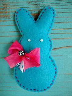 Felt Bunny #easter