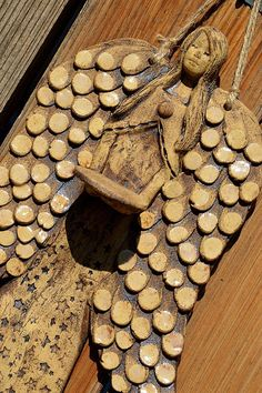 závěsný anděl s hvězdičkou-na svíčku-na objednávku Firewood, Crafts, Woodburning, Manualidades, Handmade Crafts, Craft, Arts And Crafts, Artesanato, Handicraft