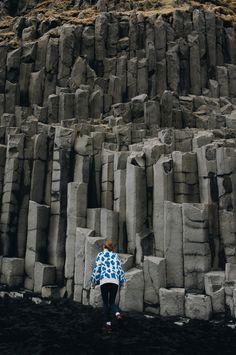 Power of Icelandic Nature #iceland #travel #blackbeach #travelphotography #girlpower #wildnerness #intothewild Iceland Travel, Us Travel, Waterfall, Travel Photography, Journey, Photo And Video, Sunset, Landscape, Beach