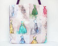 Tote Borsa estiva borsa borsa da spiaggia Pop art bag di Piebag