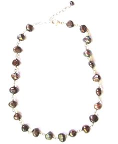 SILPADA .925 Sterling Silver Grey Freshwater Pearl Necklace N1183 | eBay