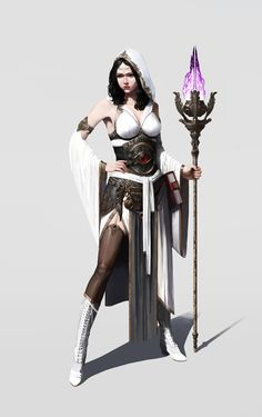 ✧ #characterconcepts ✧ ArtStation - sorceress, Hookwang Lee