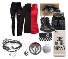 """""""First day of school"""" by jalen-romano on Polyvore featuring New Look, Giuseppe Zanotti, WithChic, Dena and Monsoon"""