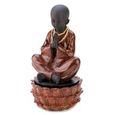 Gifts and Decor Sitting Monk Decorative Jewelry Hidden Treasure Box >>> Wow! I love this. Check it out now! : Home Decorative Accessories