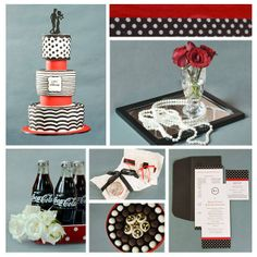 Lace your event with a chic yet quirky vintage theme!