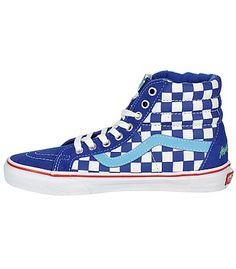 5845667826 boty Vans Sk8-Hi Reissue - Haro Freestyler Blue - blackcomb.cz
