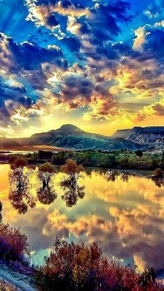 Mountain,water,reflection,nature,beauty uploaded by alohacolette Beautiful Nature Wallpaper, Beautiful Sky, Beautiful Landscapes, Beautiful Places, Wonderful Places, Amazing Photography, Landscape Photography, Nature Photography, Nature Pictures