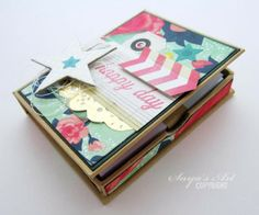 Mini notebook made by Dt Silje for anma.no