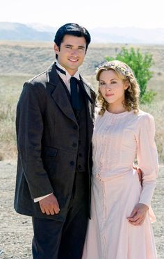 """Wes Brown as Clark Davis and Julie Mond as Ellen in """"Love Begins"""" (2011)"""