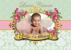 Çiçek Temalı Doğum Günü afişi