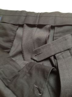 Altering Men's Slacks - Sew Santa Barbara