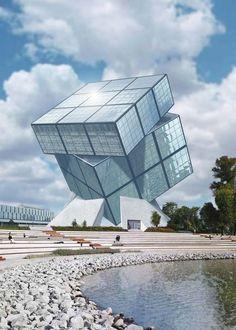 Huge Rubik cube-shaped museum will be built in Budapest, Hungary - from Hungarian Ambiance (2012);  Plans were for building to begin in 2014, and be completed in 2017;  Ernő Rubik is to have a say in the final design of the building.    ...not sure it has been started yet (2015)...