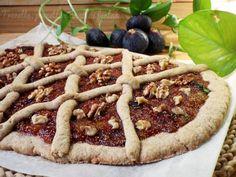 Schiaccia settembrina con marmellata di fichi e noci - Ricette Blogger Riunite