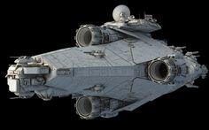 Kontos-class Star Frigate | Fractalsponge.net