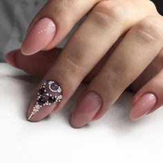 In search for some nail styles and some ideas for your nails? Here is our set of must-try coffin acrylic nails for trendy women. Swarovski Nails, Crystal Nails, Rhinestone Nails, Bling Nails, Gel Nail Art, Nail Manicure, Acrylic Nails, Diamond Nail Art, Nagel Bling