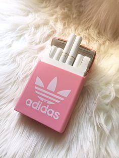 Rare PINK ADIDAS Silicon Cigarette Case / Cigarette by FisforFRESH #PINK #Adidas