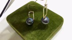 Tahitian Pearl Earrings, Tahitian Black Pearls, Pearl Drop Earrings, Pearl Jewelry, Indian Jewelry, Gold Jewelry, Pearl Pendant, Diamond Pendant, Swat