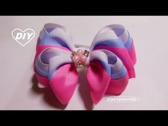 In this lesson I saw I made an amazingly beautiful bow from Grosgrain ribbon wide. This is my favorite bow. Diy Bow, Diy Hair Bows, Ribbon Bows, Grosgrain Ribbon, Boutique Hair Bows, Diy Hairstyles, Diy And Crafts, Amazing, Biscuit