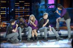 "Pentatonix performing ""Stuck like Glue"" by Sugarland. I think I liked their version better than the original! :)"