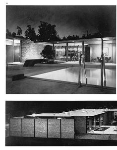 Craig Ellwood - Case Study House No. 17 - 13 of 15 Architecture Magazines, Art And Architecture, Modern Art Deco, Mid-century Modern, Craig Ellwood, Mid Century Exterior, Richard Neutra, Outdoor Retreat, Famous Architects