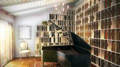 CGarchitect - Professional 3D Architectural Visualization User Community | Piano Room