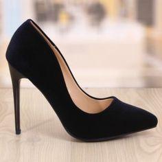 Poze Pantofi Stiletto Dioro Albastru Inchis Cod: 765 Stiletto Heels, Pumps, Cod, Shoes, Fashion, Moda, Zapatos, Shoes Outlet, Fashion Styles