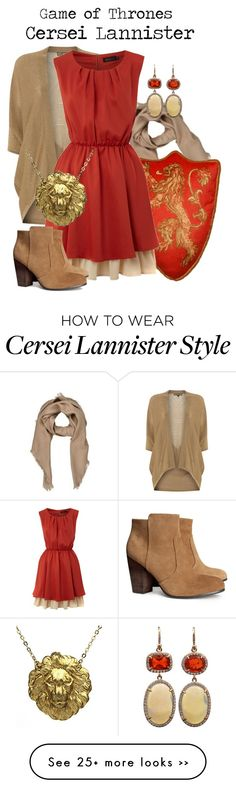 """""""Cersei Lannister"""" by charlizard on Polyvore"""