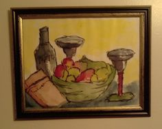 "My work . ""Relaxation"" . Water color"